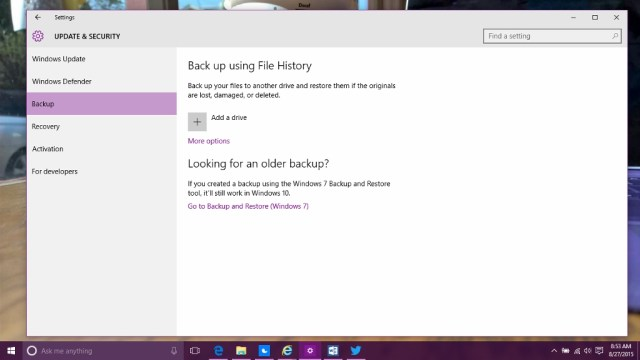 How to Backup Files in Windows 10 (5)