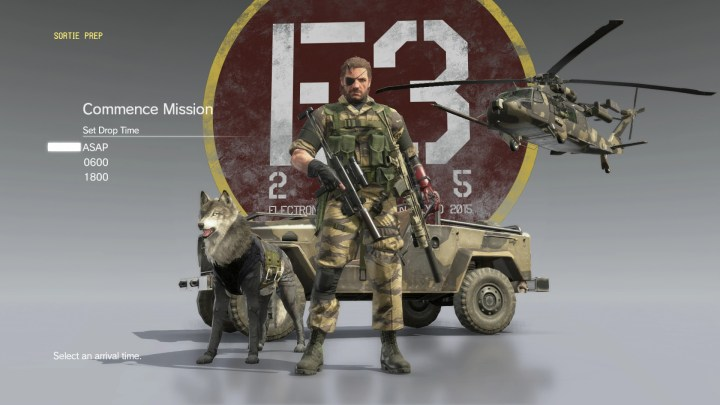 Metal Gear Solid 5 Pre-Order Bonuses