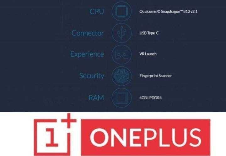 OnePlus 2 Specs