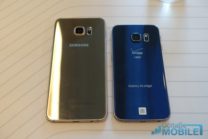 Galaxy S6 Edge vs S6 Edge Plus: Design