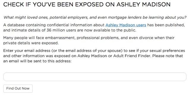 scams on ashley madison