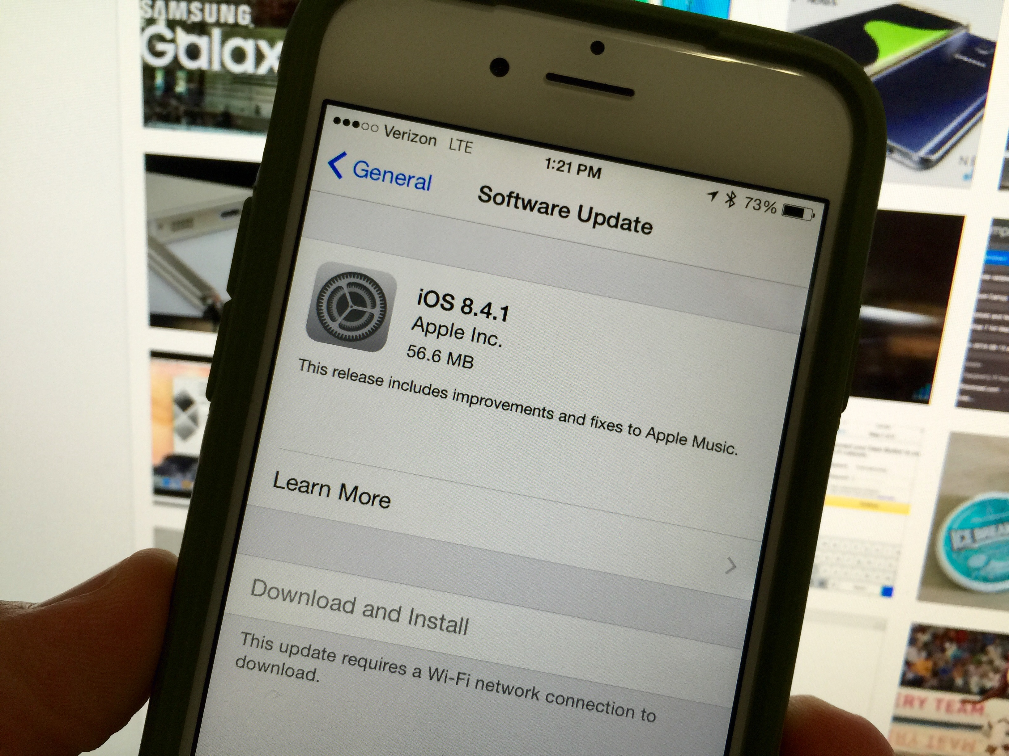 What's New in iOS 8 4 1