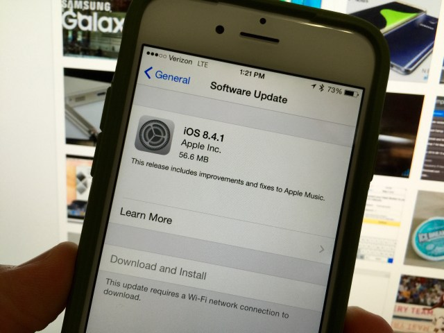 Here is a look at what's new in iOS 8.4.1.