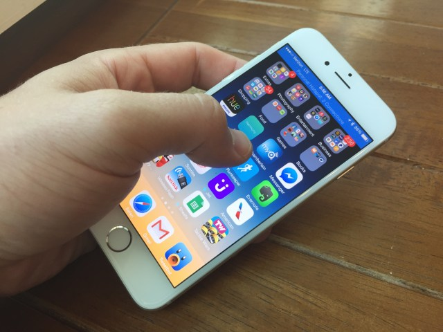 The iOS 9 code shows evidence of a new iPhone 6s feature.