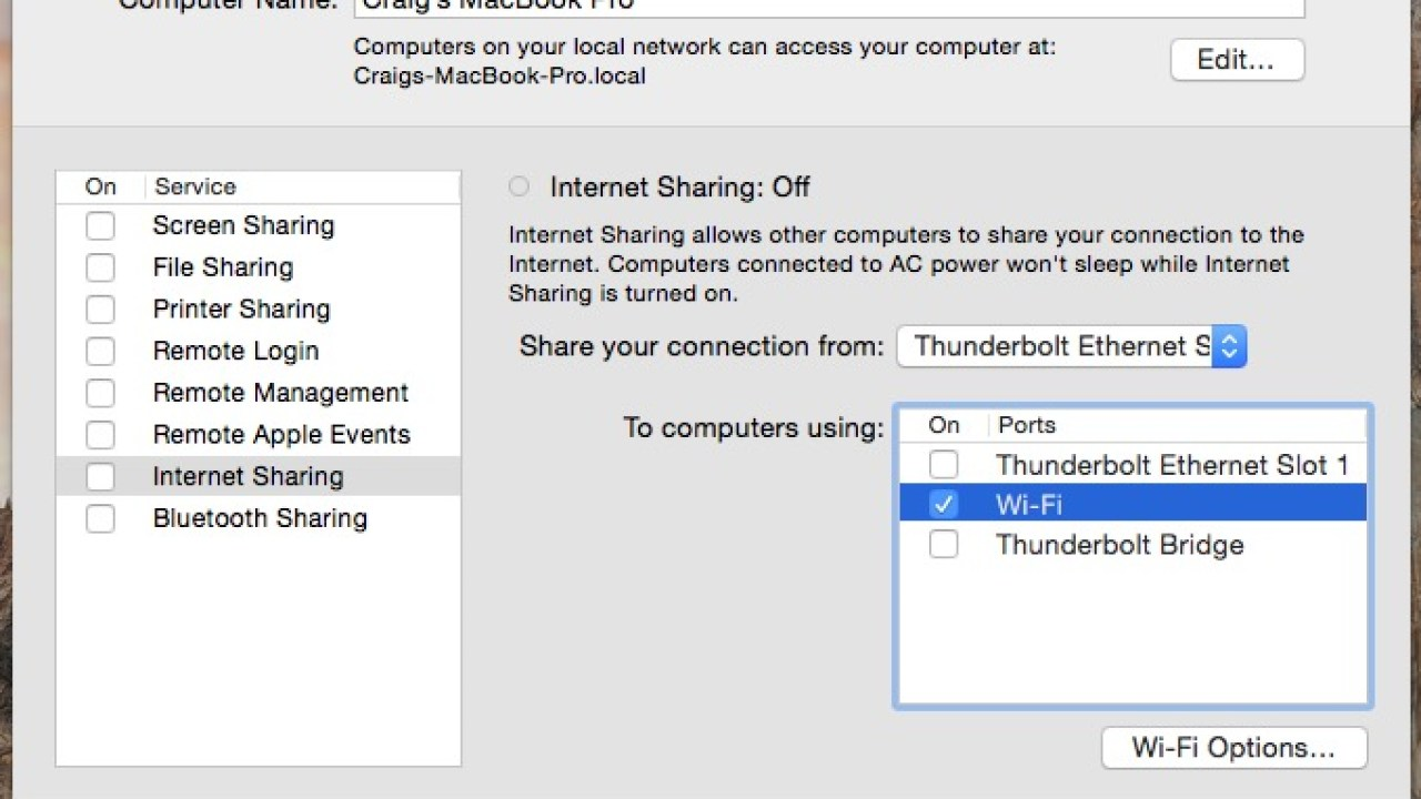 How to Use Your Mac as a WiFi Hotspot