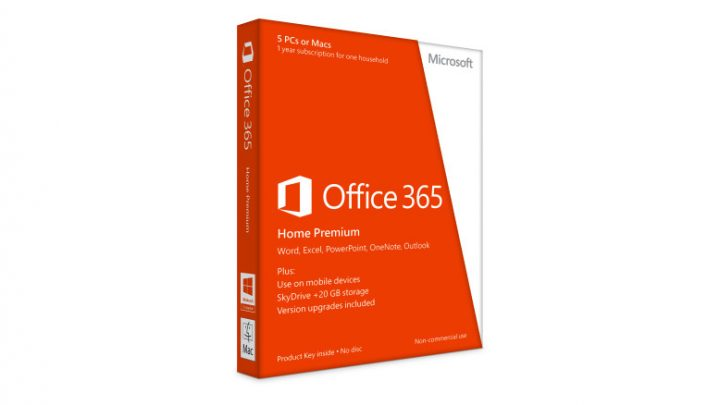 Office 365 includes 1TB of OneDrive storage.