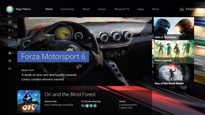 windows 10 on xbox one
