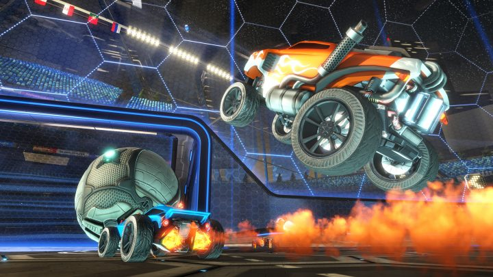 Best PS4 Games - Rocket League