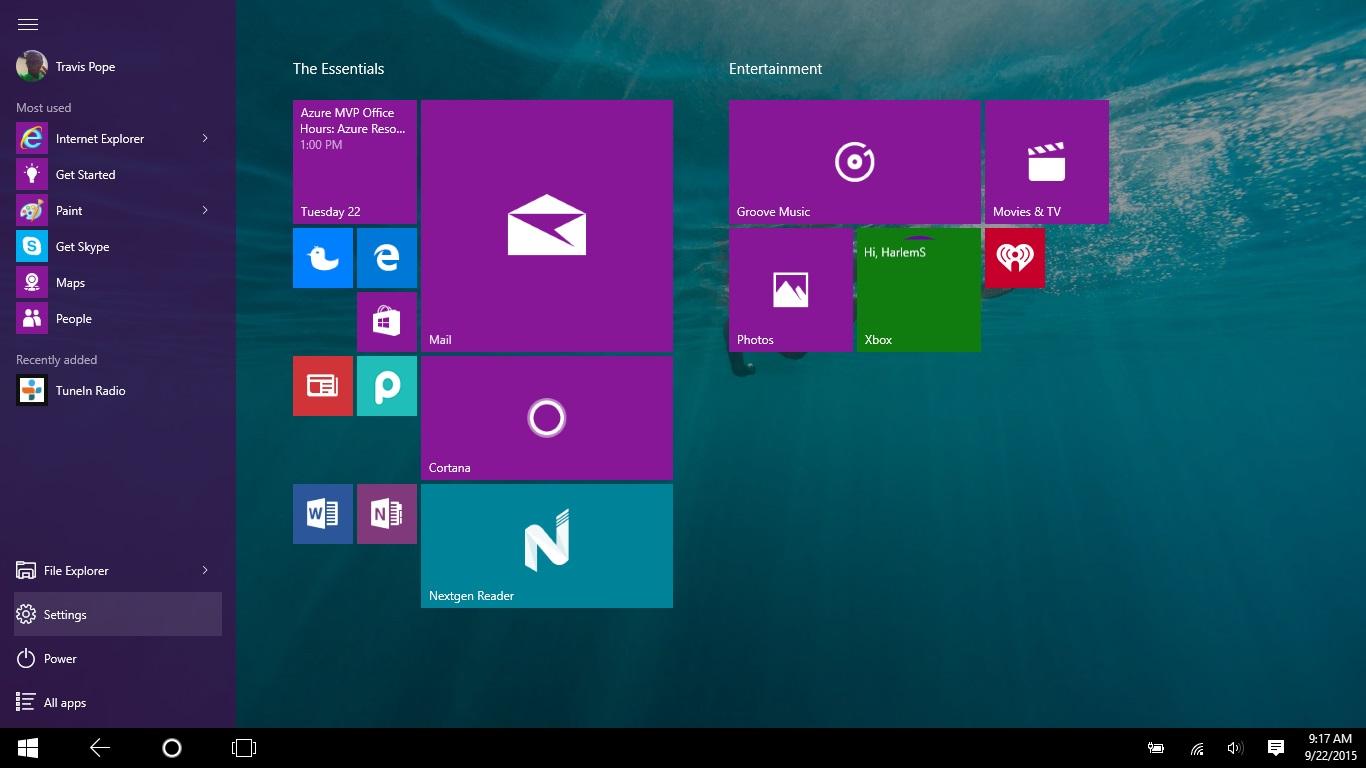 how to put apps on desktop windows 10
