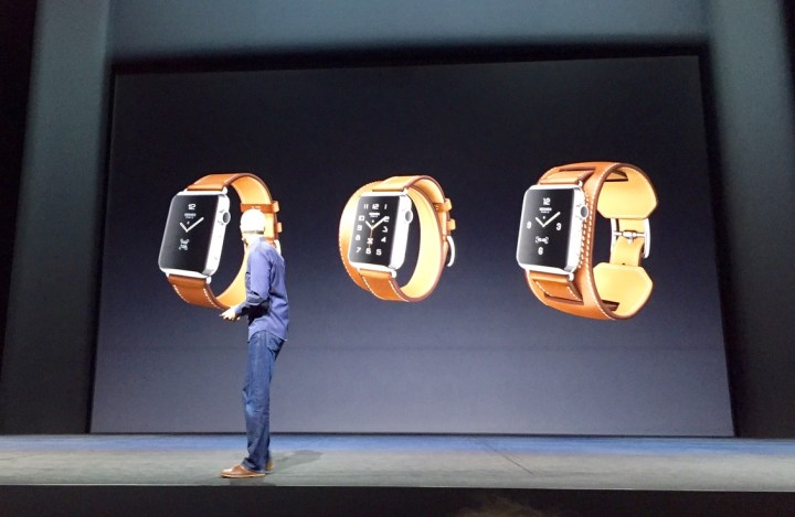 New leather Hermes Apple Watch Bands release in October.