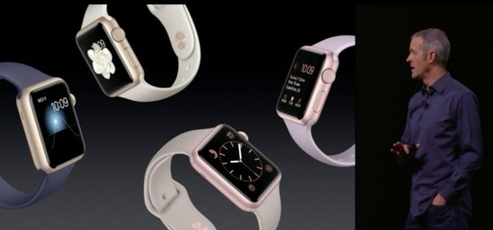 New Gold Apple Watch Sport - 4