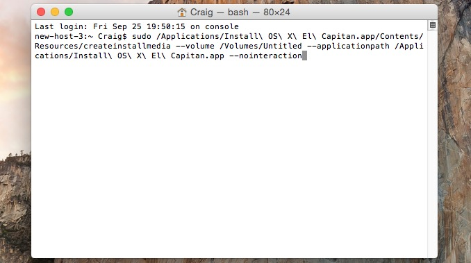 How to Perform a Clean Install of OS X El Capitan