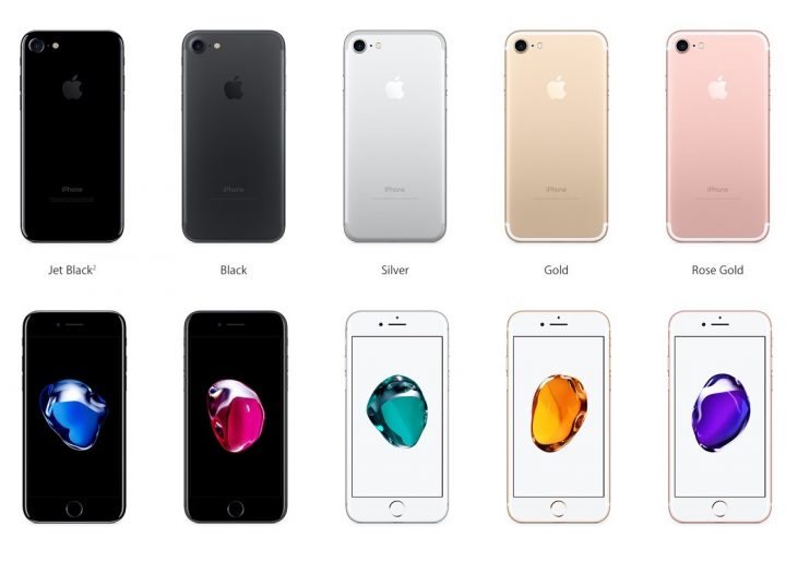 Heres Your Ultimate Look At The IPhone 7 Color Options