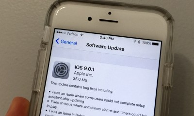 Learn what's new in iOS 9.0.1.