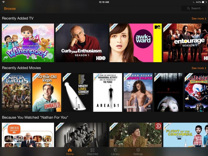 Can I Watch Amazon Prime Movies On Iphone
