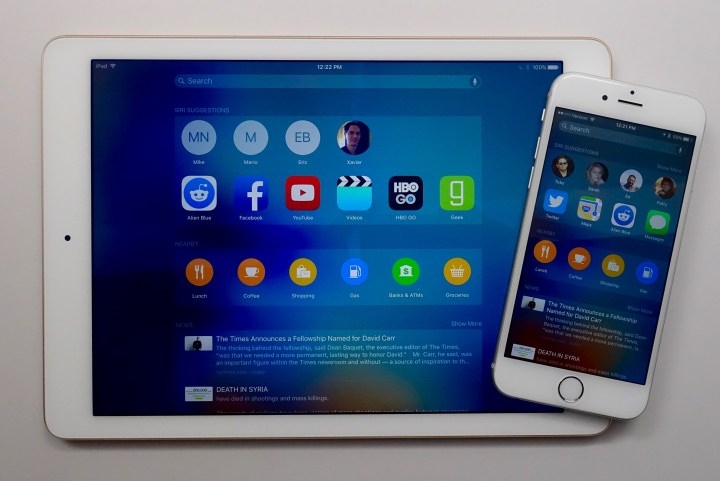 iOS 9 search is smarter thanks to Siri.
