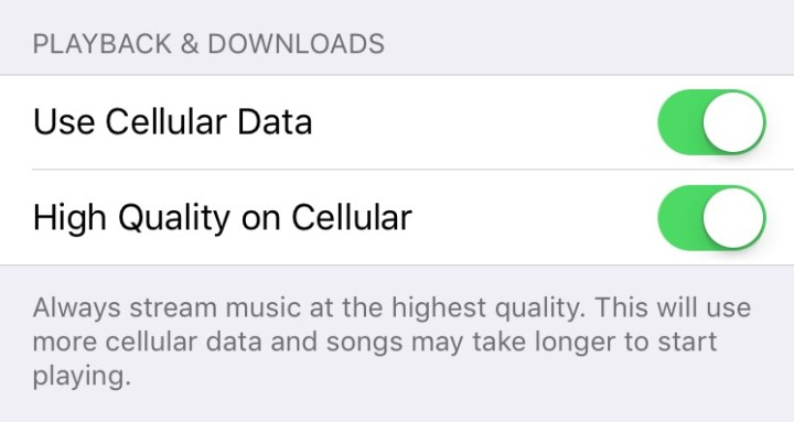 iOS 9 Tips - High Quality Apple Music LTE