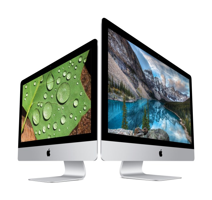 Apple 4K iMac and 5K iMac