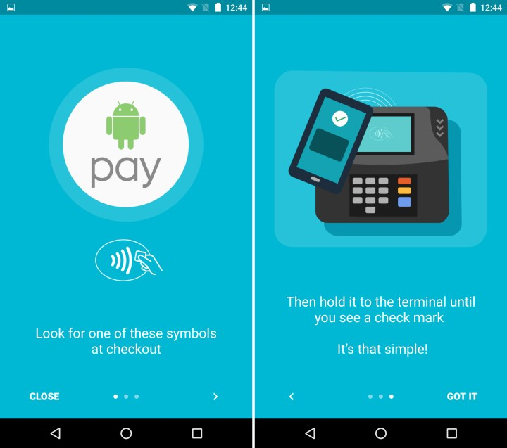 Android 6.0 Android Pay