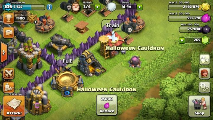 Clash-halloween