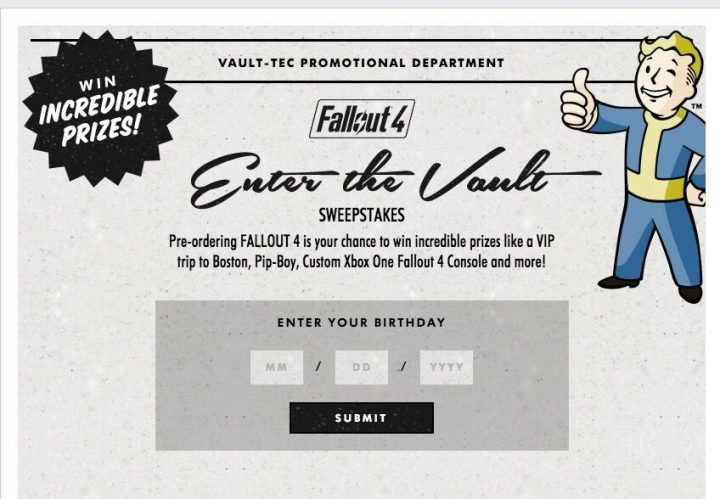 Fallout 4 Contests Coming to a Close: Win a Free Pip Boy