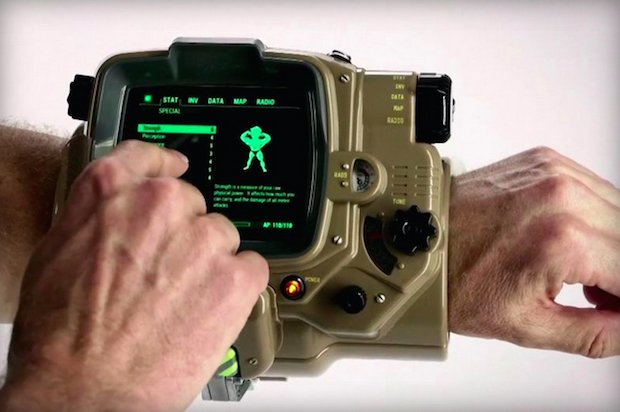 New Fallout 4 Pip Boy Stock
