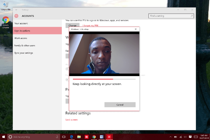 How to Use Windows Hello in WIndows 10 (11)