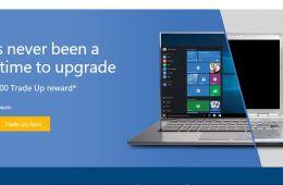 Microsoft Easy Trade Up WIndows 10 Deal