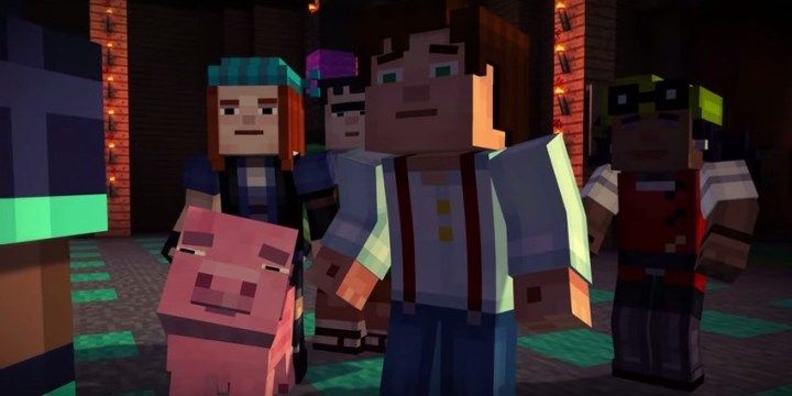 Old iPhones are not up to the task of playing Minecraft Story Mode.