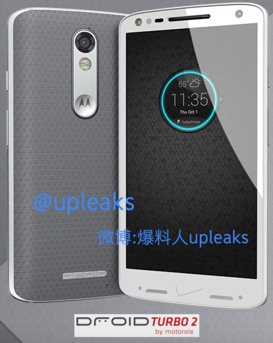 Leaked Image that's reportedly the DROID Turbo 2