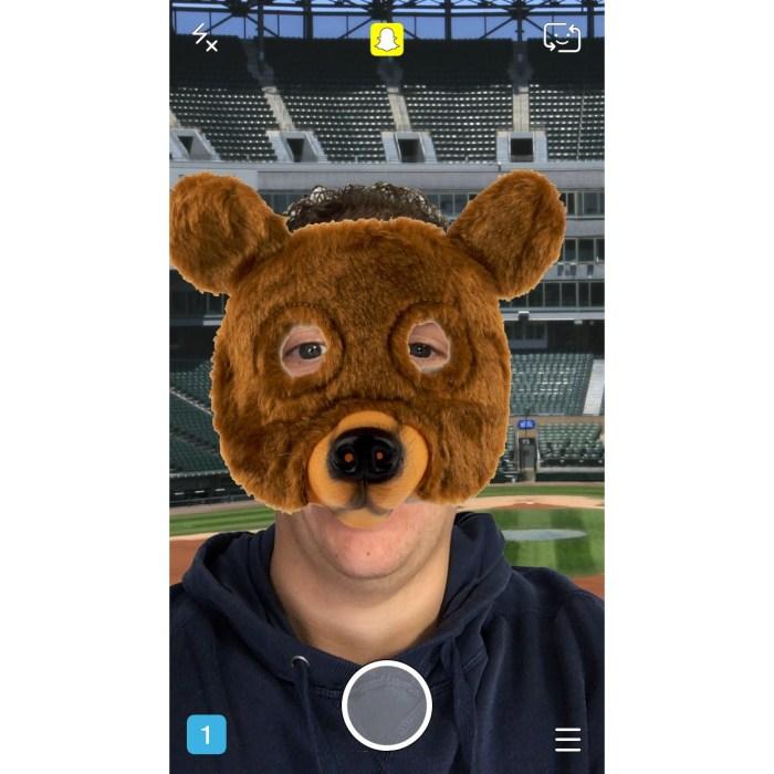 Chicago Cubs Mascot Snapchat Lenses