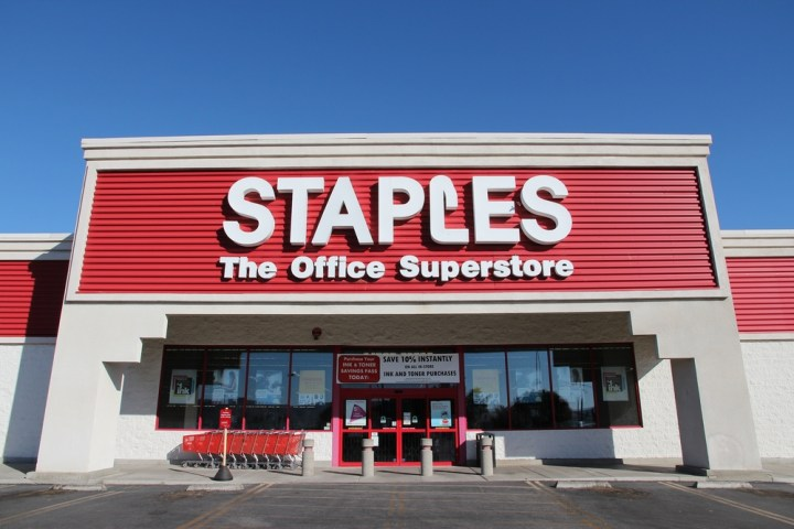 Staples announces that Black Friday 2015 plans do not include being open on Thanksgiving Day. Tupungato / Shutterstock.com