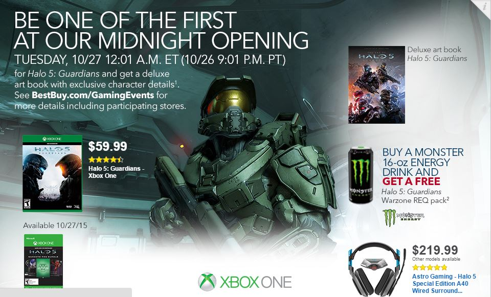 Halo 5 Deals Arrive for Those Interested in Extras