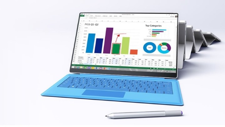 A Surface Pro 4 mock-up from W4phu