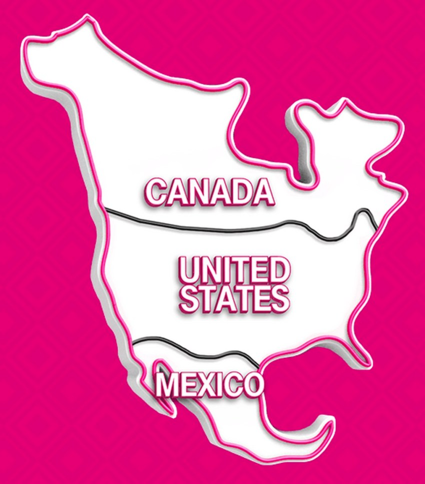 t mobile calls to canada and mexico