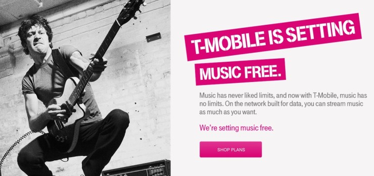 t-mobile music freedom