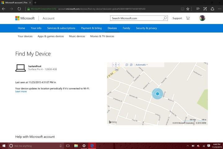 How to Find Your Lost WIndows 10 Device (12)