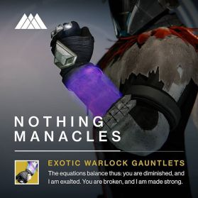 New Destiny Exotics - Destiny December Update - 5