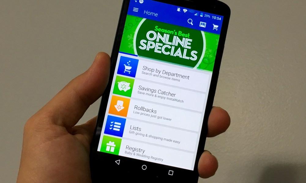 walmart savings catcher android app