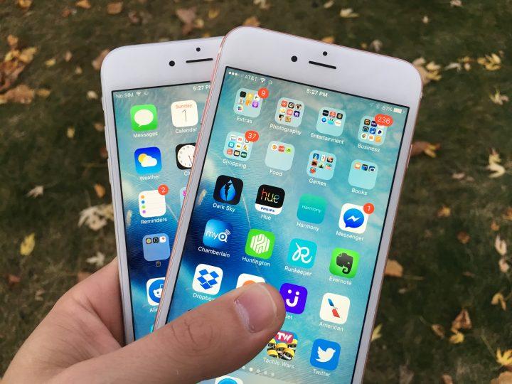 iPhone 6s Plus iPhone 6 Plus iOS 9.1 Update - 9