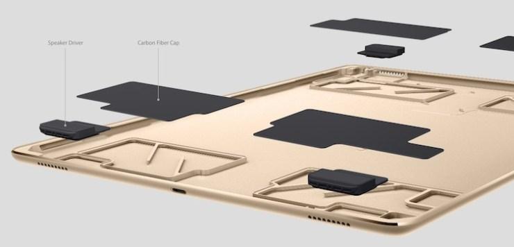 ipad pro speaker design