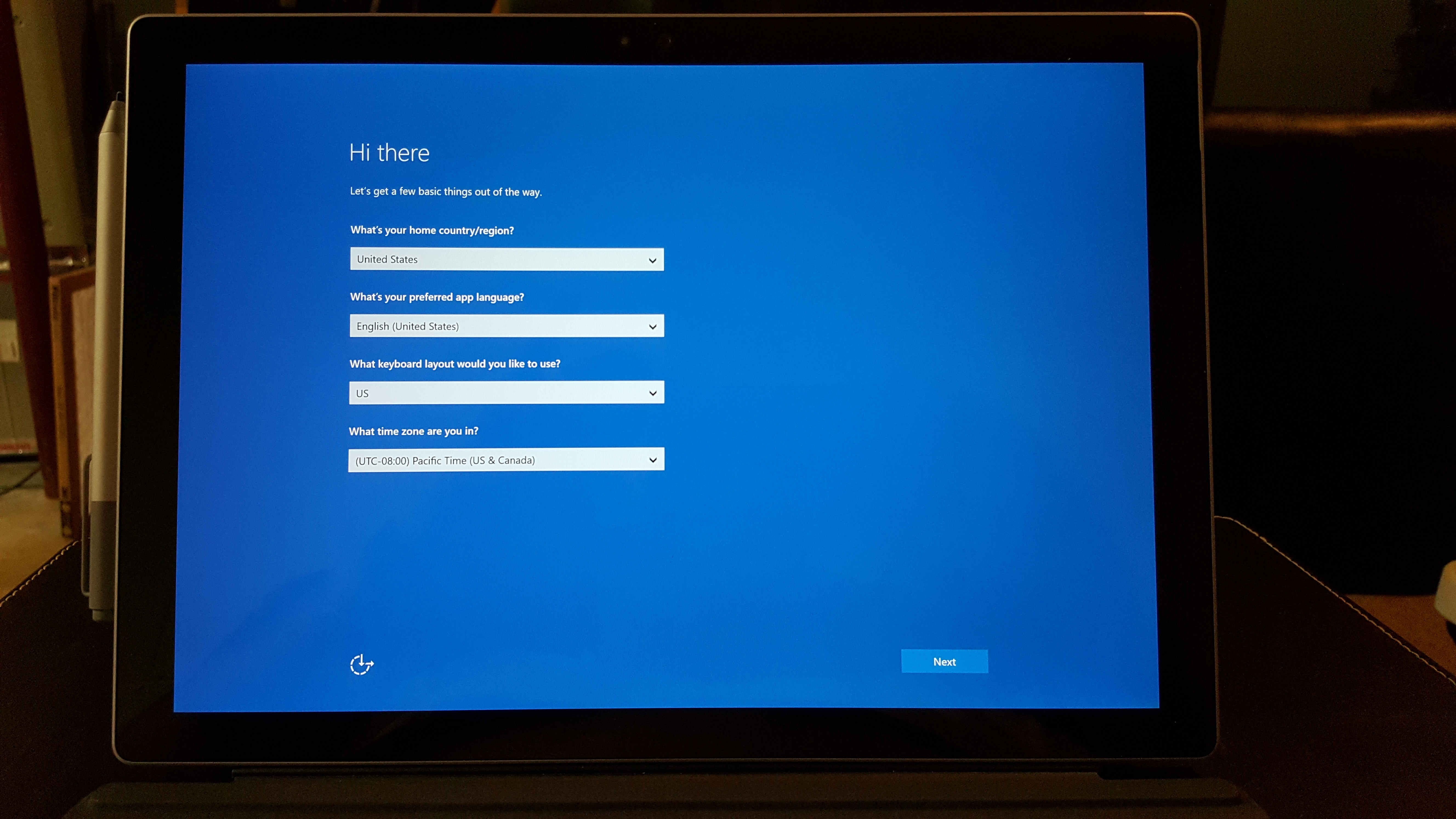 how to set up surface pen pro 4