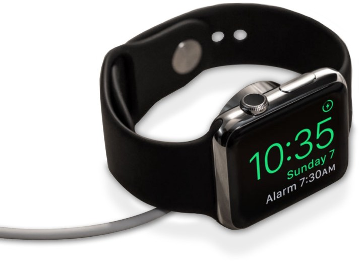 Use Apple Watch as a Night Stand Clock
