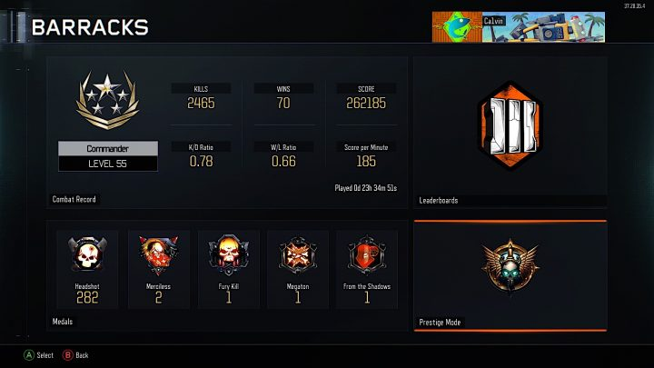 This is what happens when you complete Black Ops 3 Prestige.
