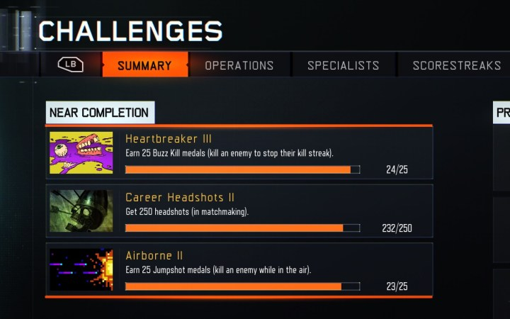 Pursue Black Ops 3 challenges to rank up even faster during the Double XP weekend.