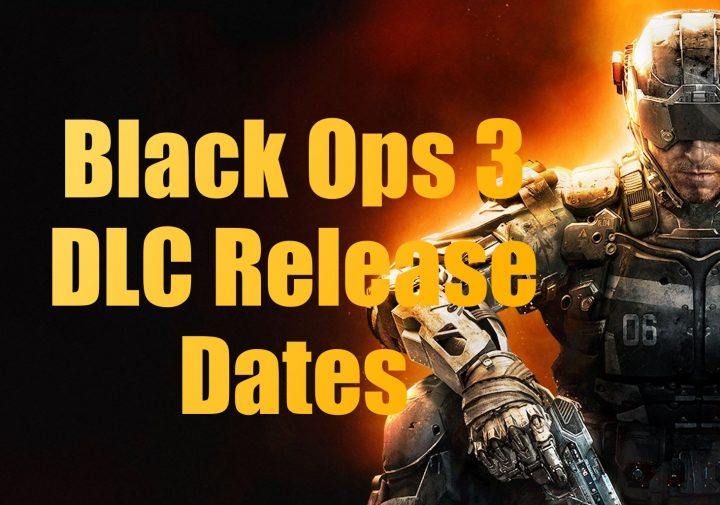 Call of Duty Black Ops 3 DLC Release Dates