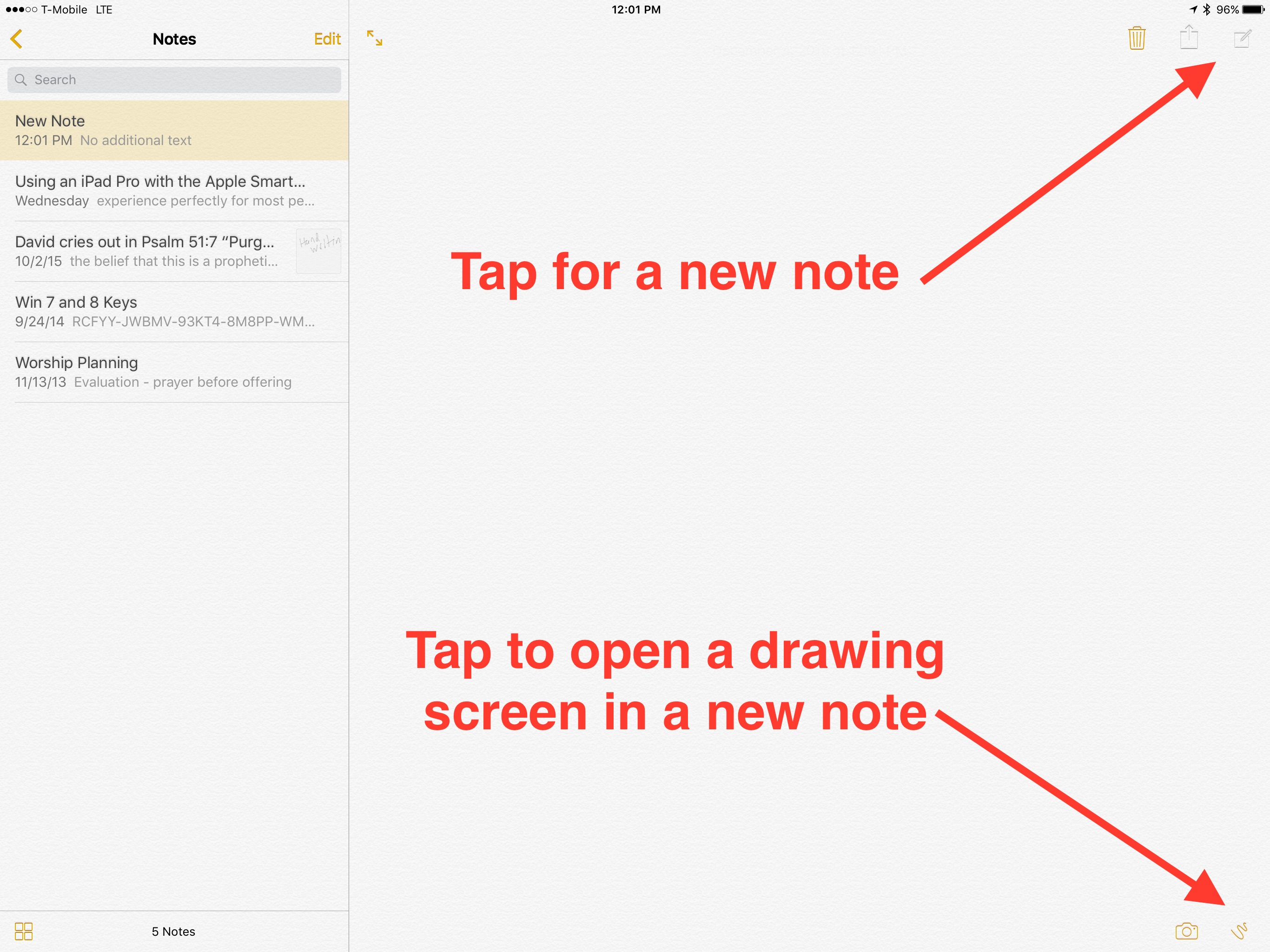 12 Things You Didnt Know Apple Pencil Could Do – Lined Paper with Drawing Box