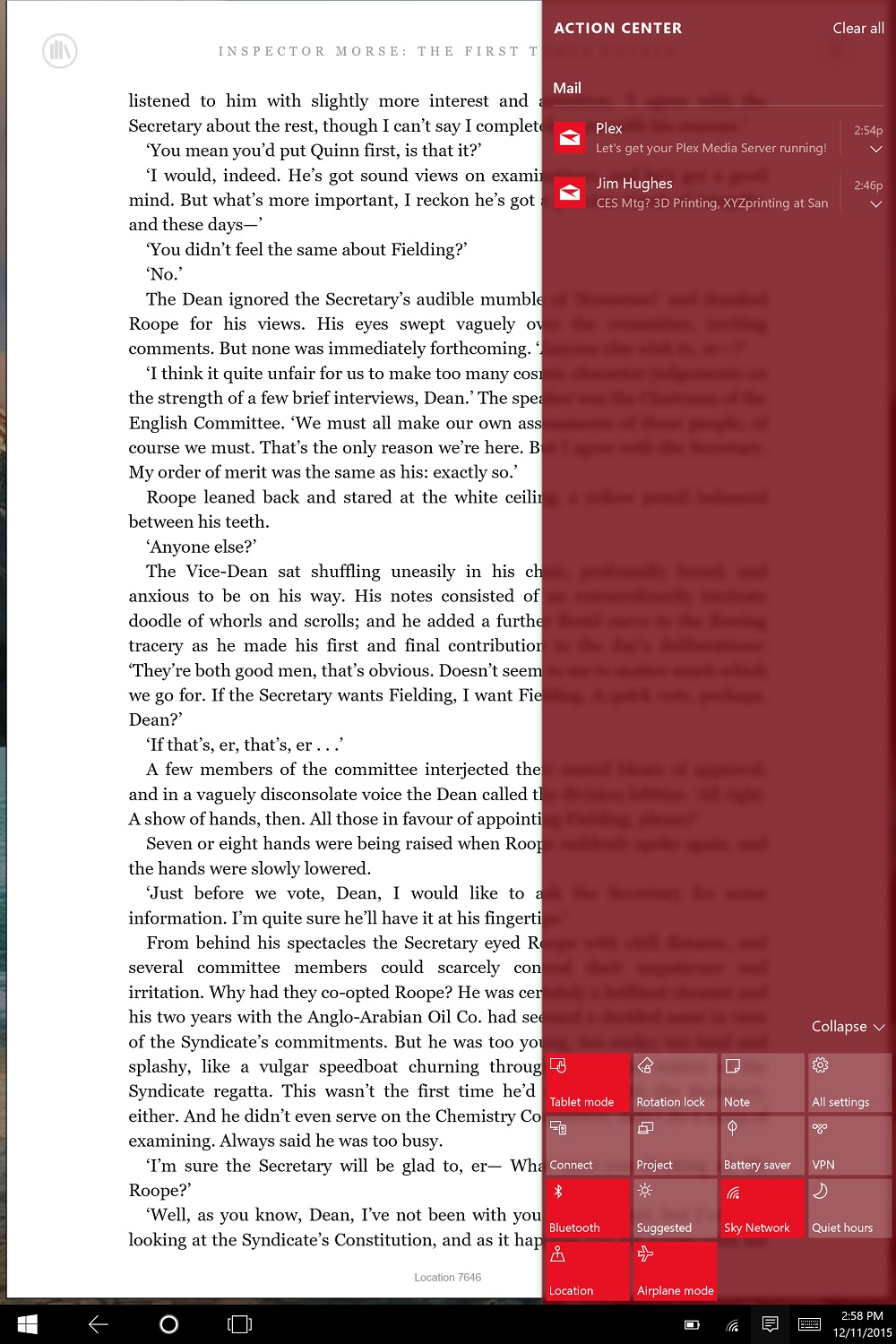 How to Read eBooks on Windows 10 2-in-1s & Tablets
