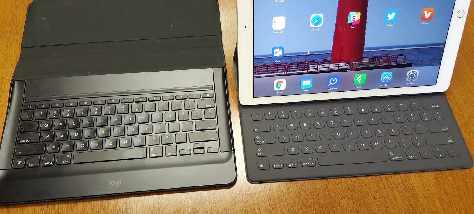 Best iPad Pro Keyboard: Apple Smart Cover v  Logitech Create