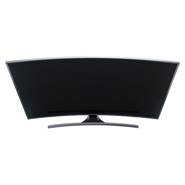 A Samsung curved 4K TV. Credit: Samsung.